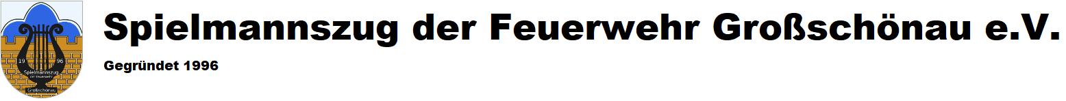 Spielmannszug der Feuerwehr Großschönau e.V.